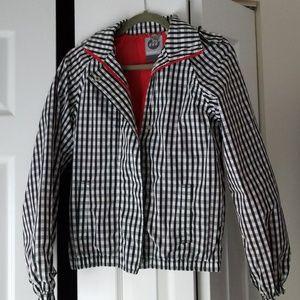 Boxfresh Gingham Windbreaker Jacket